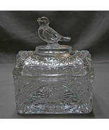 "Hofbauer Crystal 6 "" Lidded Triket Box W. Germany ~Stunning - $26.99"