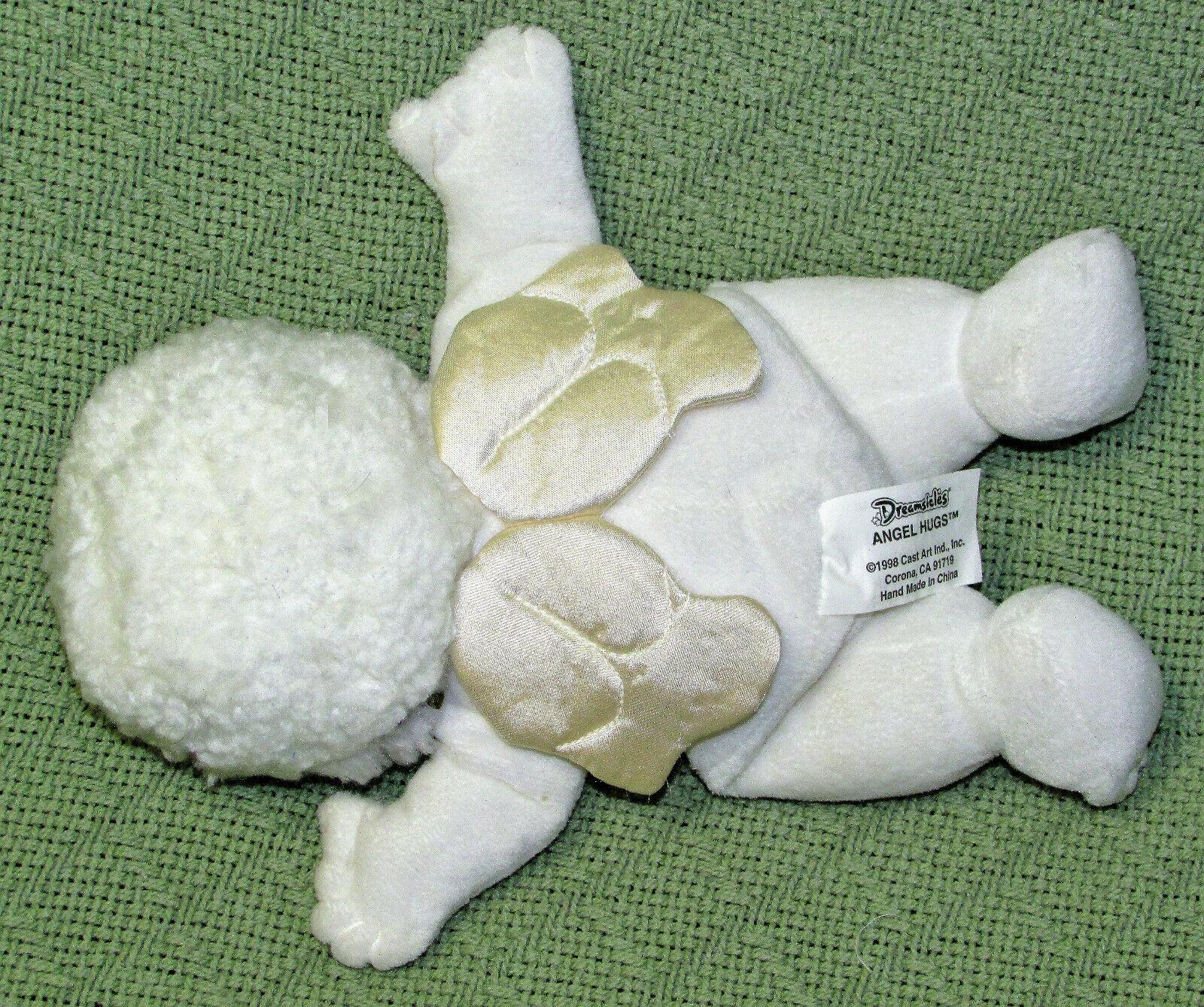 1999 DREAMSICLES ANGEL HUGS BEANBAG VINTAGE STUFFED ANIMAL PLUSH DOLL SATIN WING image 3