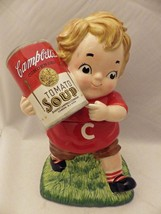 Campbell's Soup kid - Cookie Jar - 12 1/2 inches tall, dated 2005 - EUC - $33.66