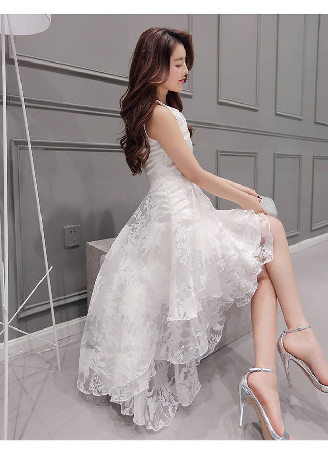 High low party Dress  at Bling Brides Bouquet online bridal store