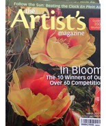 The Artist's Magazine March 2013 Book Material Read In Bloom Flowers Wat... - $9.89