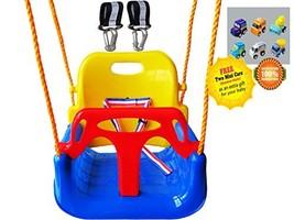 Littlefun 3-in-1 Infant to Teenage Detachable Upgrade Version Swing Set ... - $55.15