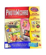 Ultimate Photo Wizard Deluxe Win3.1 Win95 Palladium Interactive CD-Rom S... - $42.06