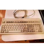 Vintage Hewlett Packard HP C1405A #ABA Computer Keyboard Red Letters cord - $54.40