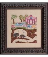 Bad Neighborhoods: Swimming Hole cross stitch chart Ink Circles - $7.20