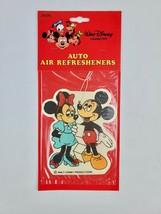 1980's Vintage Walt Disney Mickey & Minnie Mouse Car Air Freshener Larger - $14.95