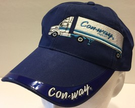 Conway Freight Trucking Blue Hat Less Than Truckload LTL Shipping Semi C... - $42.07
