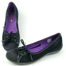 Womens Merrell Rosella Truss Sporty Flats 7.5 Slip on Ballet Slipper Shoe Black - $24.94