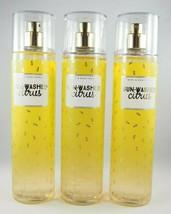(3) Bath & Body Works Yellow Gold Sun-Washed Citrus Fragrance Mist Spray... - $37.59