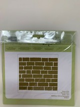 Stampin Up Brick Wall Embossing Folder Textured Impressions 138288 New Sealed - $19.79
