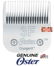 Genuine Oster A5 Cryogen X 3F 3FC Blade Fit Many Andis,Wahl Clippers Pet Grooming - $51.46