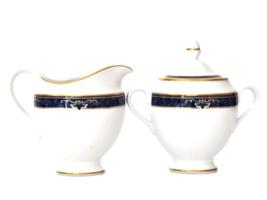 Vintage Wedgwood Cream & Sugar, Wedgwood Chadwick China, Wedgwood Embassy  - $40.00
