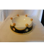 Large Ceramic Dog Bowl Outta Hand by Amy Hetrick Essex Collection - $59.39