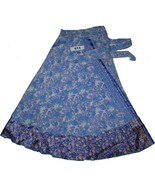 New Print Lovely Boho Long Wrap Around Skirt 36 Inches Length - $9.79