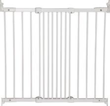 "BabyDan Flexi Fit Angle Mount Gate 26.4 - 41.5"" - White Wood"