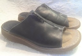 Dr. Martens Sandals Slides Women's Size 7 Black Leather - $17.13