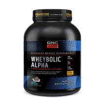 GNC AMP WHEYBOLIC ALPHA Cookies & Cream 3.30lbs. servings 44 Clinically ... - $60.00