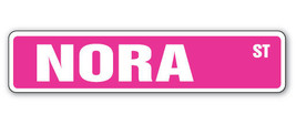 NORA Street Sign kids room childrens name gift ... - $7.11