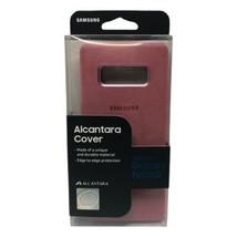 Genuine Samsung Alcantara Cover for Samsung Galaxy Note8 Pink - $19.99