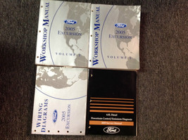 2005 FORD Excursion TRUCK Service Shop Repair Manual Set W EWD & PCED 6.0 Diesel - $287.05