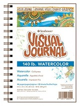 "Strathmore 400 Series Visual Watercolor Journal, 140 LB 9""x12"" Cold Pres... - $17.56"