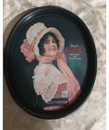 "Coca-Cola Serving Tray - Betty Girl - Pink Bonnet Replica 15"" x 12.5"" - $14.97"