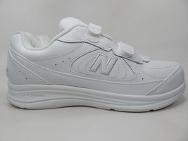 New Balance 577 Size US 8.5 2E WIDE EU 42 Men's Walking Shoes White MW577VW