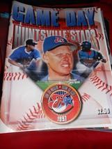Minor League Baseball Collectible Magazine- 1997 HUNTSVILLE STARS (Alabama) - $7.51