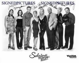Sabrina The Teenage Witch Cast Signed Autograph 8x10 Rp Photo Melissa Joan Hart - $17.99