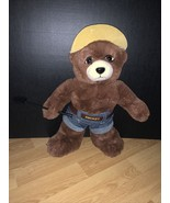 """2005 15"""" Brown Smokey The Bear Plush by Kids Preferred with tags - $19.79"""