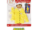Elf on the Shelf Claus Couture Caroling in the Raincoat  North Pole  Rain Boots