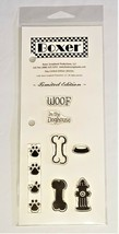 Boxer Scrapbook Productions Dog Limited Edition Stamp Set #81016