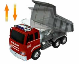 Think Toys Kids Melody Dump Truck Car Push and Go Friction Powered Vehicle Toy image 5