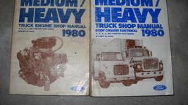 1980 Ford F B C L 600 9000 M & Lourd Camion Service Atelier Réparation M... - $69.39