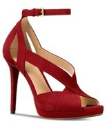 MICHAEL Michael Kors Becky Dress Sandals in Maroon - $99.99
