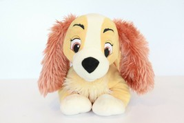 Lady And The Tramp Large Lady Disney Store Plush Doll Dog Stuffed Animal - $14.84