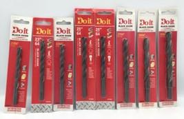"""Do It  Black Oxide 21/64"""", 23/64"""", 25/64"""", 27/64"""", 29/64"""", 31/64"""" Drill ... - $49.49"""