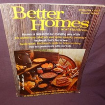 Better Homes and Gardens Magazine Nov 1973 Houses Family Travel Recipes - $18.99
