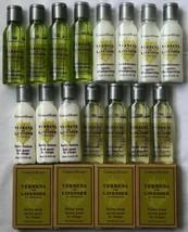 Lot 19 Crabtree & Evelyn Shampoo Conditioner Lotion Shower Gel Soap Trav... - $18.99