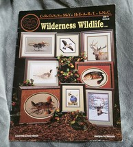 Cross My Heart Wilderness Wildlife Counted Cross Pattern Book CSB-71 - $10.39