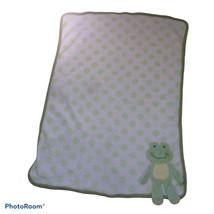 Koala Baby Frog Blanket 3D Polka Dots Plush Fleece 2010 HTF Lovie - $34.64