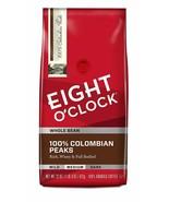 EIGHT O CLOCK WHOLE BEAN COFFEE 100% COLOMBIAN PEAKS MEDIUM ROAST - $11.39+