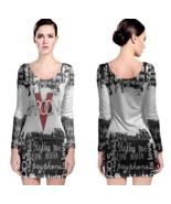 Marron 5 Women Sexy Long Sleeve Bodycon  Dress - $24.80+