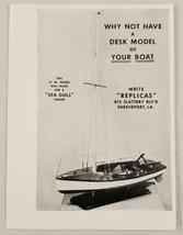 1948 Print Ad Desk Models of Boats by Replicas Shreveport,LA - $8.15