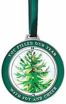 Baudville Holiday Spinner Christmas Tree Ornament - You Filled Our Year ... - $18.05