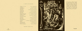 Ray Bradbury -DARK CARNIVAL facsimile dust jacket for 1st UK edition - $21.56