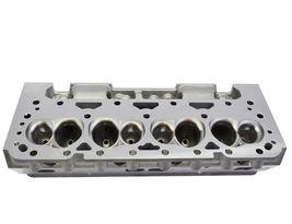 SBC Small Block Chevy GM Straight Plug Aluminum Cylinder Head Set 64cc 2.02/1.60 image 10