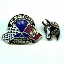 Al Kaly pinbacks mixed lot horse derby shriners extra mile pair roger me... - $14.80