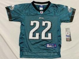 M28 Philadelphia Eagles Asante Samuel Green Jersey Shirt Kids Jersey M 5-6 - $14.80