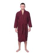 Men's 100% Cotton Shawl Collar Robe Terry Cloth Bathrobe - Choose Plus S... - $45.07+